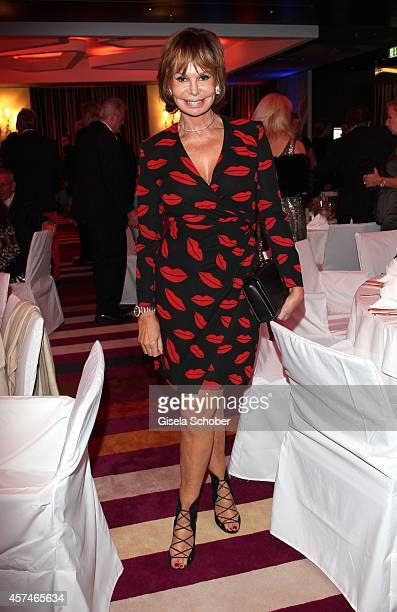 Marion Heinrich attends the Monti Memorial Charity Gala at Hotel Vier Jahreszeiten on October 18 2014 in Munich Germany