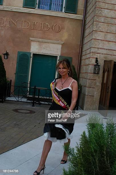 Marion HeinrichBenz Das große Miss GermanyTreffen Europapark Rust Rust Deutschland Hotel Colosseo PNr 1188/2005 Bühne Laufsteg Catwalk Schönheit...