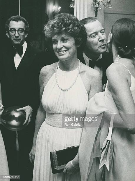 Marion Javits attends Valentino Fashion Show Benefiting Special Olympics on June 7, 1976 at the Pierre Hotel in New York City.