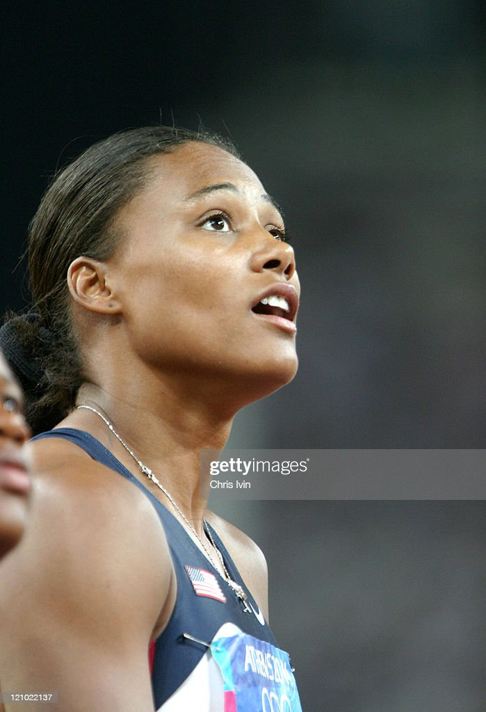 Athens 2004 Olympic Games - Day 14 - Athletics - Women's 4x100m Relay Final
