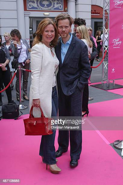 Marion Kracht and Berthold Manns attends the 'Dirty Dancing' Musical Premiere at Admiralspalast on April 27 2014 in Berlin Germany