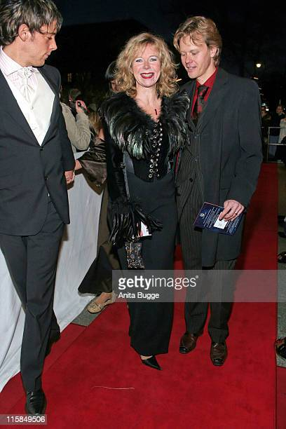 Marion Kracht and Berthold Manns during Berlin Premiere Musical Tanz der Vampire Arrivals at Theater des Westens in Berlin Berlin Germany