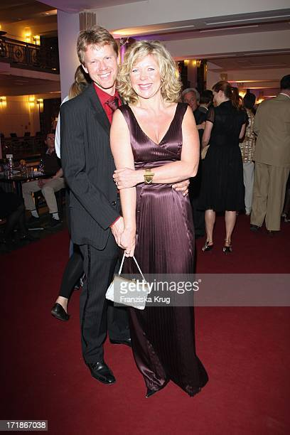 Marion Kracht and friend Berthold at The anniversary gala to 25 Years of New FriedrichstadtPalast In Berlin