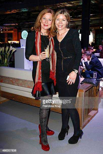 Marion Kracht and Tina Ingwersen-Matthiesen attend the Spirit of Istanbul by Yeni Raki on March 14, 2015 in Berlin, Germany.