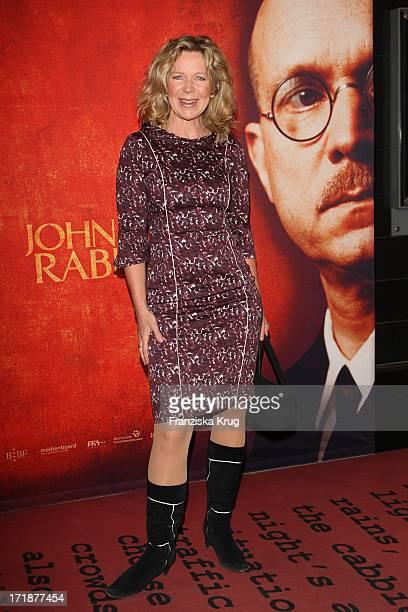 Marion Kracht at the Premiere Of Cinema movie John Rabe in Cinestar at Potsdamer Platz in Berlin