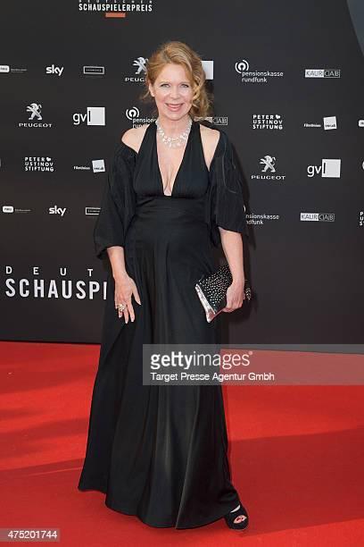Marion Kracht attends the 'Deutscher Schauspielerpreis 2015' at Zoopalast on May 29 2015 in Berlin Germany