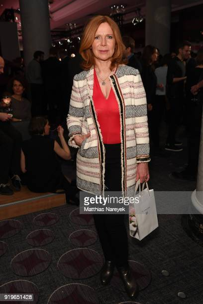 Marion Kracht attends the Medienboard Berlin-Brandenburg Reception during the 68th Berlinale International Film Festival Berlin at on February 17,...