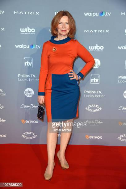 Marion Kracht attends the Movie Meets Media party during 69th Berlinale International Film Festival at Hotel Adlon on February 10, 2019 in Berlin,...