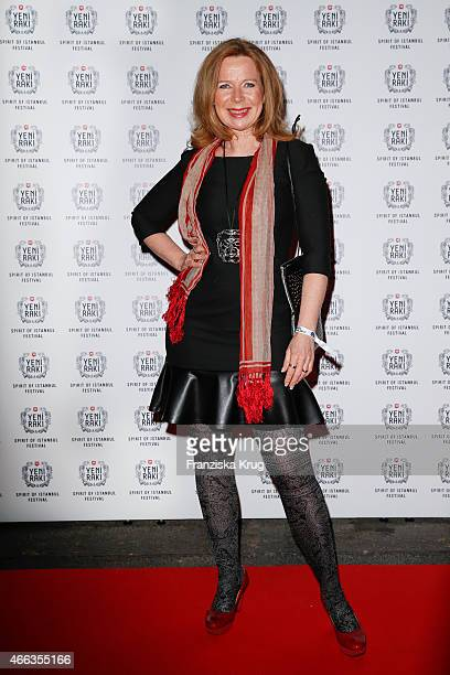 Marion Kracht attends the Spirit of Istanbul by Yeni Raki on March 14, 2015 in Berlin, Germany.