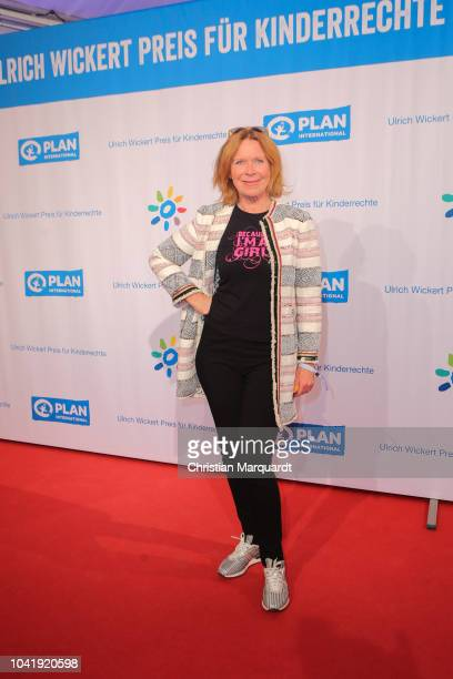 Marion Kracht attends the Ulrich Wickert and Peter SchollLatour award at Bar jeder Vernunft on September 27 2018 in Berlin Germany
