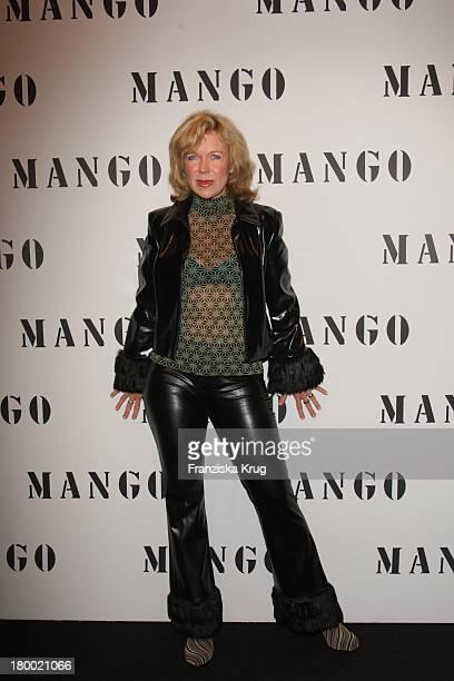 Marion Kracht Bei Der Fashionparty 10 Jahre Mango In Deutschland Im Ewerk In Berlin