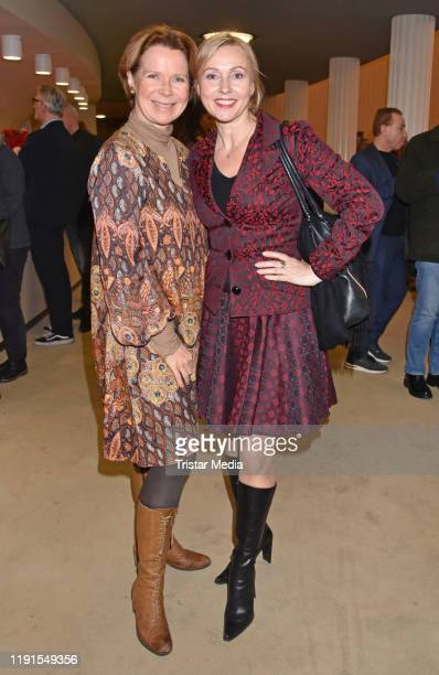 "Marion Kracht, Dana Golombek during the ""Skylight' theater premiere at Schiller Theater on December 1, 2019 in Berlin, Germany."
