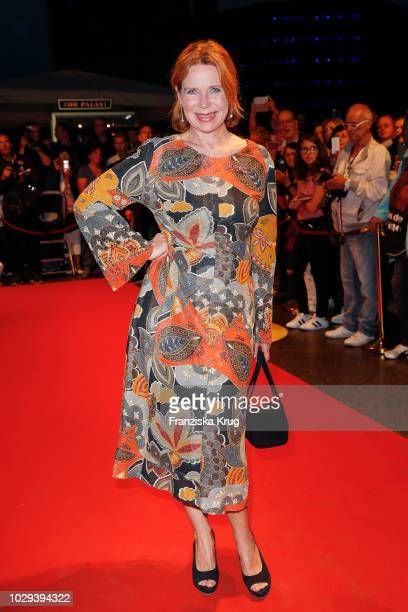 Marion Kracht during the 100th birthday celebration gala for Artur Brauner at Zoo Palast on September 8, 2018 in Berlin, Germany. Artur Brauner is a...