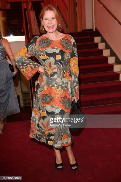 Marion Kracht during the 100th bitrhday celebration gala for Artur Brauner at Zoo Palast on September 8, 2018 in Berlin, Germany. Artur Brauner is a...