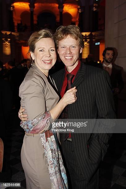 Marion Kracht Und Ehemann Berthold Manns Bei Der Ard Blue Hour Opening Party Bei Der 60 Berlinale In Berlin