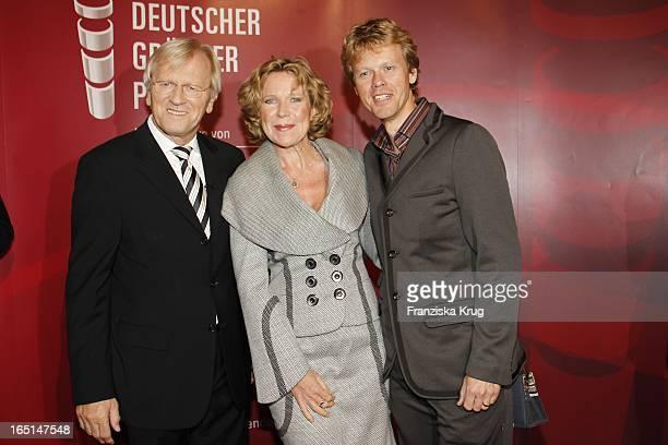 Marion Kracht Und Ehemann Berthold Manns Bei Der Verleihung Des Deutschen Gründerpreises 2010 Im Zdf Zollernhof In Berlin