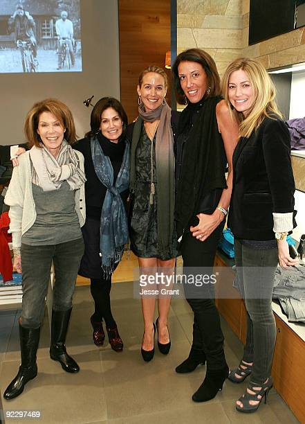 Marion Laurie Debbie Gruber Hillary Thomas Martin Osa President Laura Dubin Wander and Quinn Ezralow attend a private shopping event in support of...