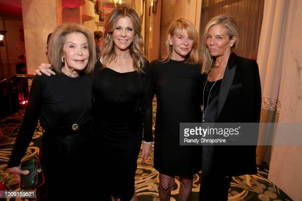 "Marion Laurie, Rita Wilson , Kate Capshaw and Kelly Chapman Meyer attend WCRF's ""An Unforgettable Evening"" at Beverly Wilshire, A Four Seasons Hotel..."