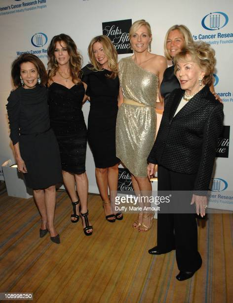 Marion Laurie Rita Wilson Quinn Ezralow Jaime Tisch Kelly Chapman Meyer and Anne Douglas attend An Unforgettable Evening Benefiting EIF's Women's...
