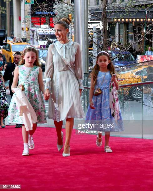 Marion Loretta Elwell Broderick Sarah Jessica Parker and Tabitha Hodge Broderick attend the 2018 New York City Ballet Spring Gala at David H Koch...