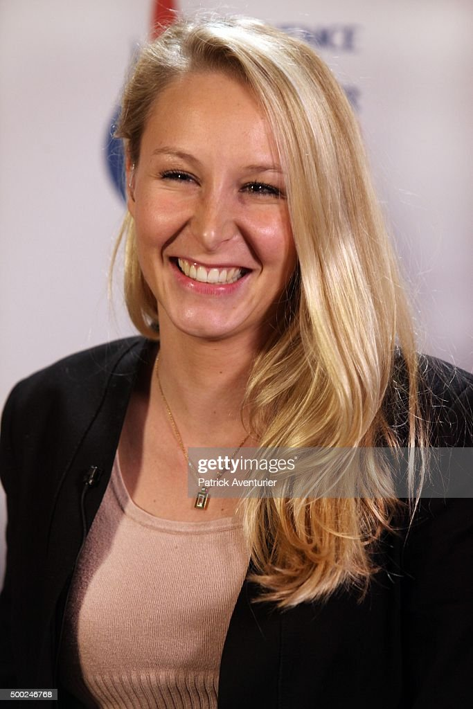 marion marechal le pen vice president of the french far right front photo d 39 actualit. Black Bedroom Furniture Sets. Home Design Ideas