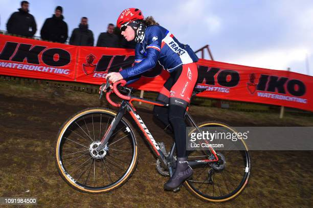 Marion Norbert Riberolle of France and Team France / during the 70th Cyclo-cross World Championships Bogense 2019 - Training / Cross Denmark /...