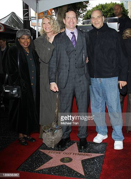 Marion Ramsey Leslie Easterbrook Steve Guttenberg attend the ceremony honoring Actor Steve Guttenberg with a Star on The Hollywood Walk of Fame held...