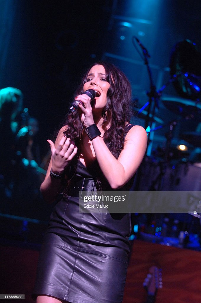 Marion Raven during Meat Loaf's 'Bat Out of Hell' on Broadway Comes to the Palace Theater at The Palace Theater in New York City, New York, United States.