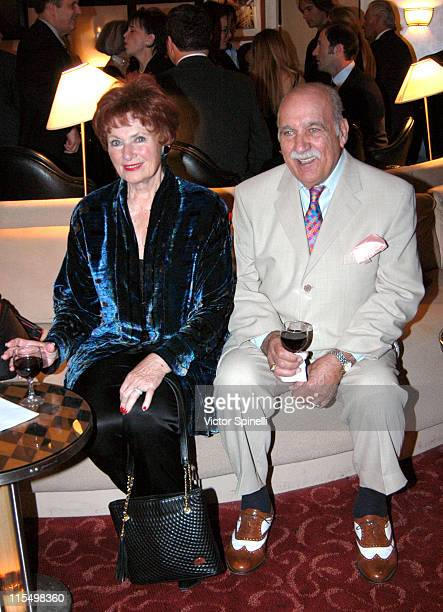 Marion Ross and Paul Michael during Los Angeles Italian Film Awards Gala Dinner at Friars Club of California in Beverly Hills California United States