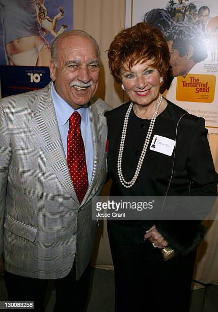 Marion Ross and Paul Michael during Reception for Blake Edwards Honorary Academy Award Recipient February 26 2004 at The Annex Hollywood Highland in...