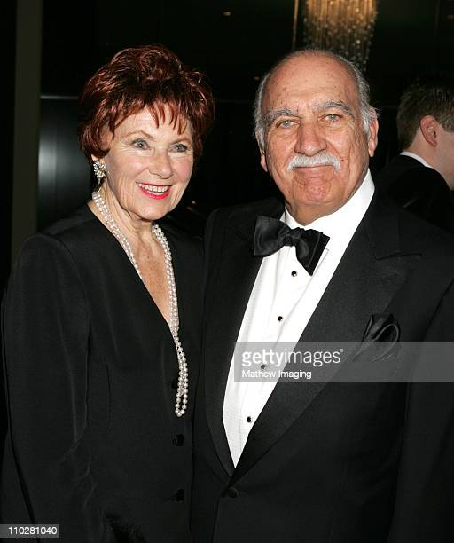 Marion Ross and Paul Michael during The 56th Annual ACE Eddie Awards Red Carpet at Beverly Hilton Hotel in Beverly Hills California United States