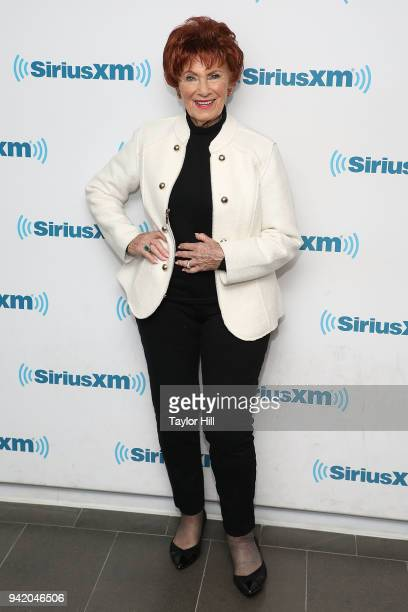 Marion Ross visits the SiriusXM Studios on April 4 2018 in New York City