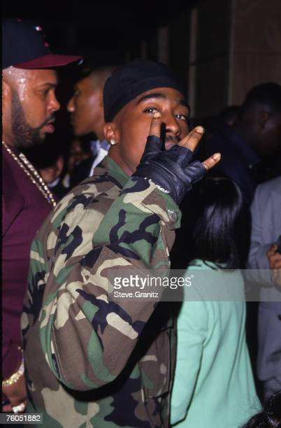 Marion 'Suge' Knight and Tupac Shakur