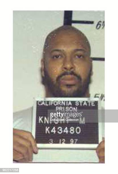Marion 'Suge' Knight is pictured in a California Department of Corrections mug shot taken in March 1997