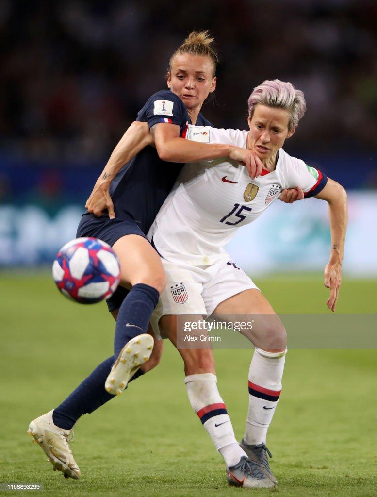 France v USA: Quarter Final  - 2019 FIFA Women's World Cup France : News Photo