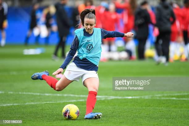 Marion TORRENT of France before the Tournoi de France International Women's soccer match between France and Canada on March 4 2020 in Calais France