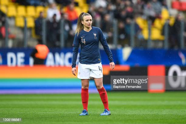 Marion TORRENT of France during the Tournoi de France International Women's soccer match between France and Canada on March 4 2020 in Calais France