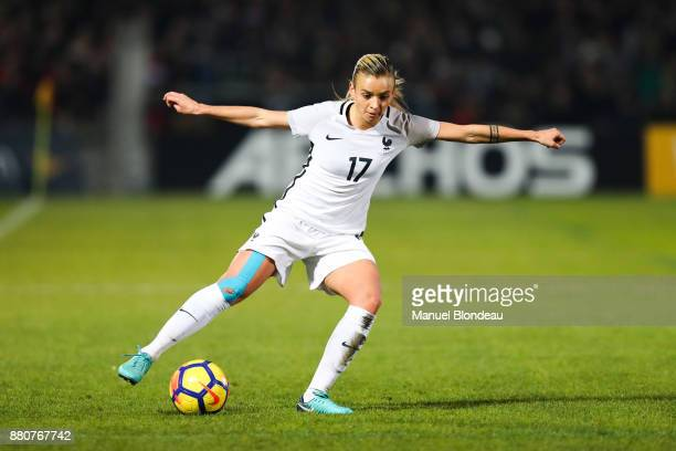 Marion Torrent of France during the Women's friendly international match between France and Sweden the at Stade ChabanDelmas on November 27 2017 in...