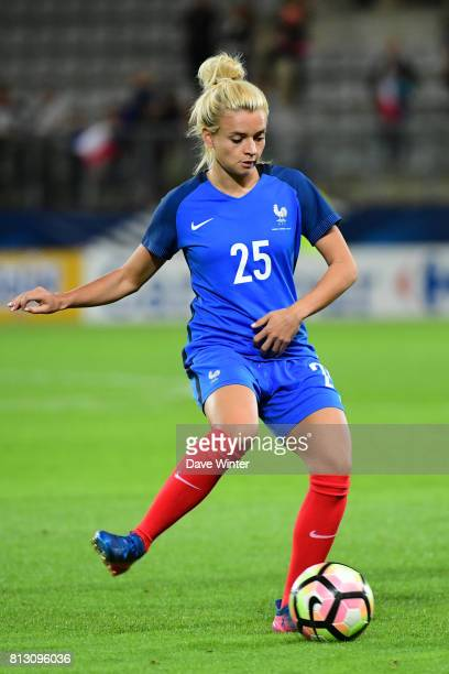 Marion Torrent of France during the women's international friendly match between France and Norway on July 11 2017 in Sedan France