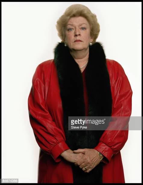 Marion True former antiquities curator for the J Paul Getty Museum poses at a portrait session for The New Yorker Magazine Published image