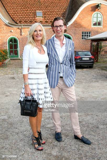 Marion Vedder and Eike Knueppel during the BMW Polo Cup Gut Basthorst on June 15 2018 in Basthorst Germany