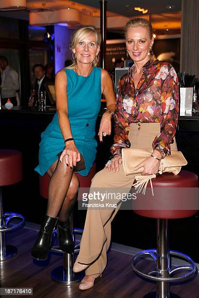 Marion Vedder and Petra van Bremen attend the Pandora Essence Collection Launch at Europa Passage on November 06 2013 in Hamburg Germany