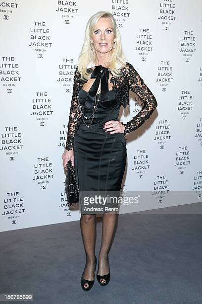 Marion Vedder attends CHANEL 'The Little Black Jacket' Exhibition Opening by Karl Lagerfeld and Carine Roitfeld on November 20 2012 in Berlin Germany