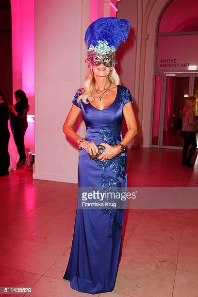 Marion Vedder attends the Bal Masque 2016 on February 20 2016 in Hamburg Germany