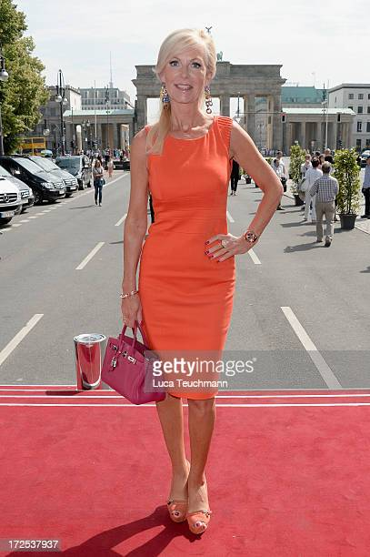 Marion Vedder attends the Blacky Dress Berlin Show at the MercedesBenz Fashion Week Spring/Summer 2014 at the Brandenburg Gate on July 3 2013 in...