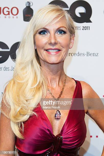 Marion Vedder attends the GQ Man of the Year Award at the Komische Oper on October 28 2011 in Berlin Germany