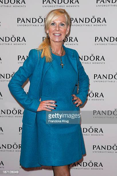 Marion Vedder attends the Pandora Essence Collection Launch at Europa Passage on November 06 2013 in Hamburg Germany