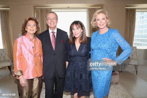 Marion Waxman Bill Sullivan Andrea Stark and Pamela Morgan attend Samuel Waxman Cancer Foundation Luncheon With Carolina Herrera on May 17 2017 in...