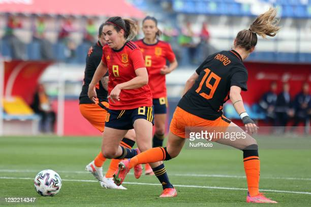 Mariona Caldentey of Spain during the International Friendly Women match between Spain v Netherlands at the Estadio Municipal Antonio Lorenzo Cuevas...