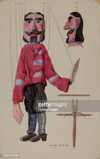 Marionette, 1935/1942. Artist Beverly Chichester.